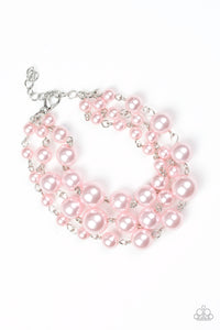 Until The End Of TIMELESS Pink Bracelet - Paparazzi Accessories