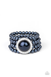 Top Tier Twinkle Blue Pearl Bracelet - Paparazzi Accessories