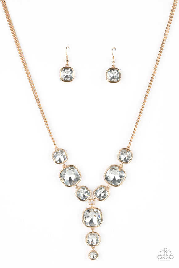 Legendary Luster Gold Necklace - Paparazzi Accessories