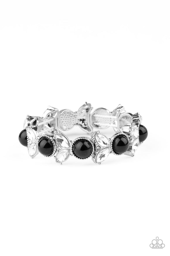 Opulent Oasis Black Bracelet - Paparazzi Accessories