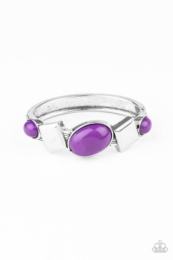 Abstract Appeal Purple Bracelet - Paparazzi Accessories