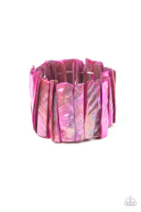 Beach Blast Pink Bracelet - Paparazzi Accessories