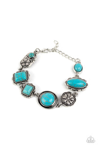 Gorgeously Groundskeeper Blue Bracelet - Paparazzi Accessories