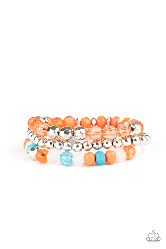 Sugary Shimmer Multi Bracelet - Paparazzi Accessories