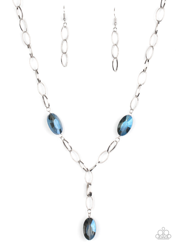 Power Up Blue Necklace - Paparazzi Accessories