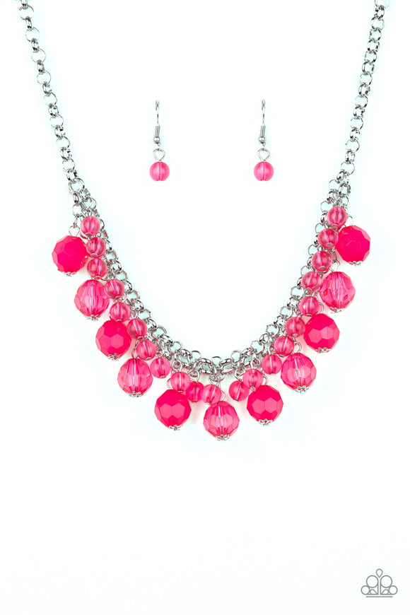 Fiesta Fabulous Pink Necklace - Paparazzi Accessories