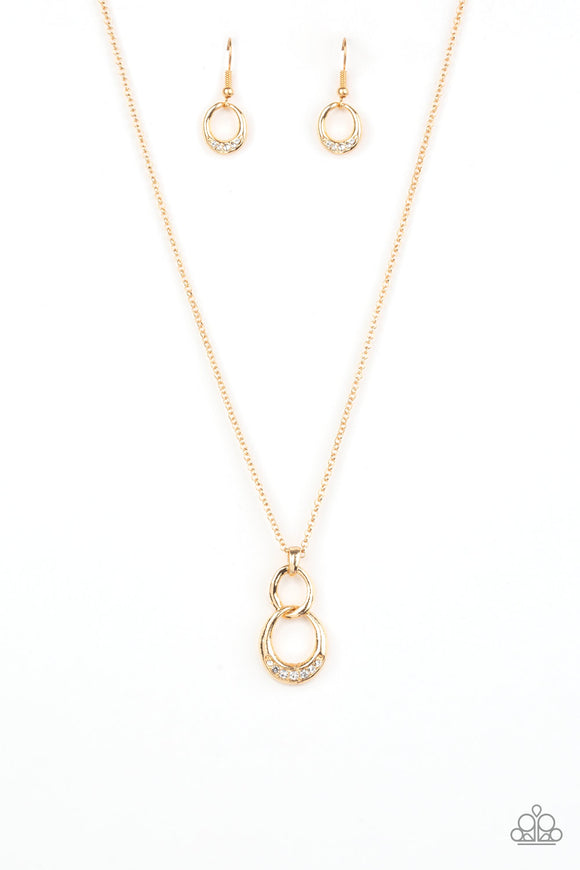Rockefeller Royal Gold Necklace - Paparazzi Accessories