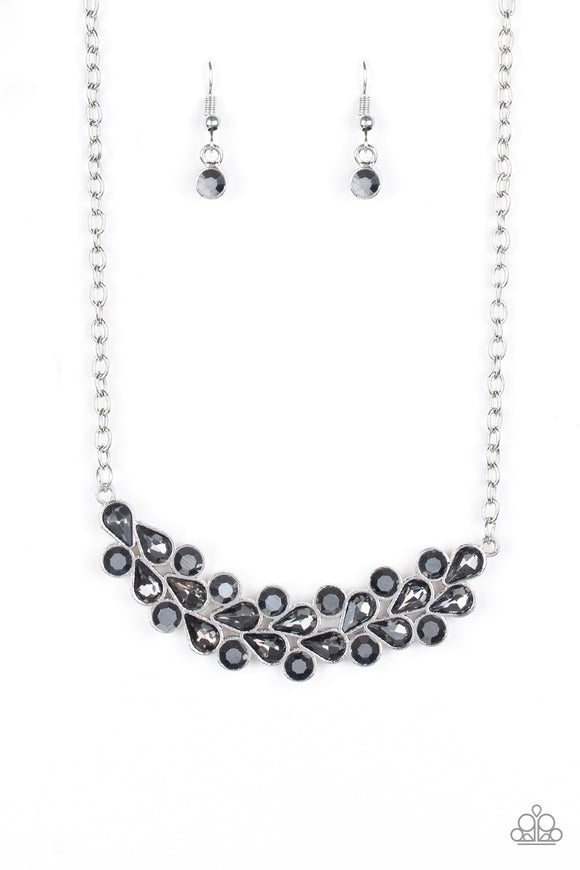 Special Treatment Silver Necklace - Paparazzi Accessories