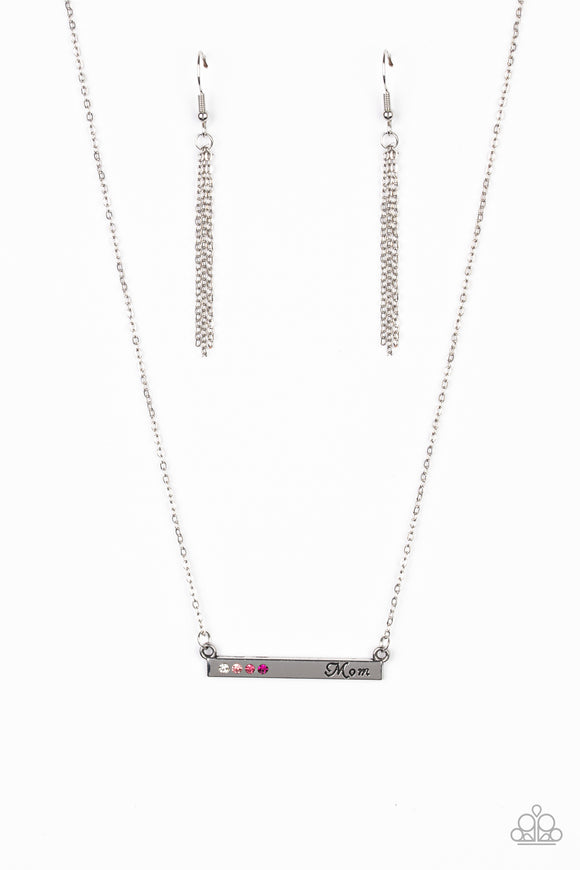 Moms Do It Better Pink Necklace - Paparazzi Accessories