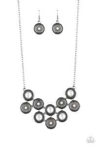 Whats Your Star Sign? White Necklace - Paparazzi Accessories
