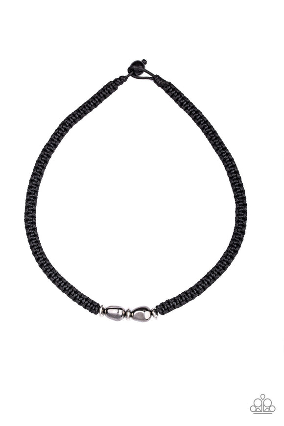 Urban Explorer Silver Urban Necklace - Paparazzi Accessories