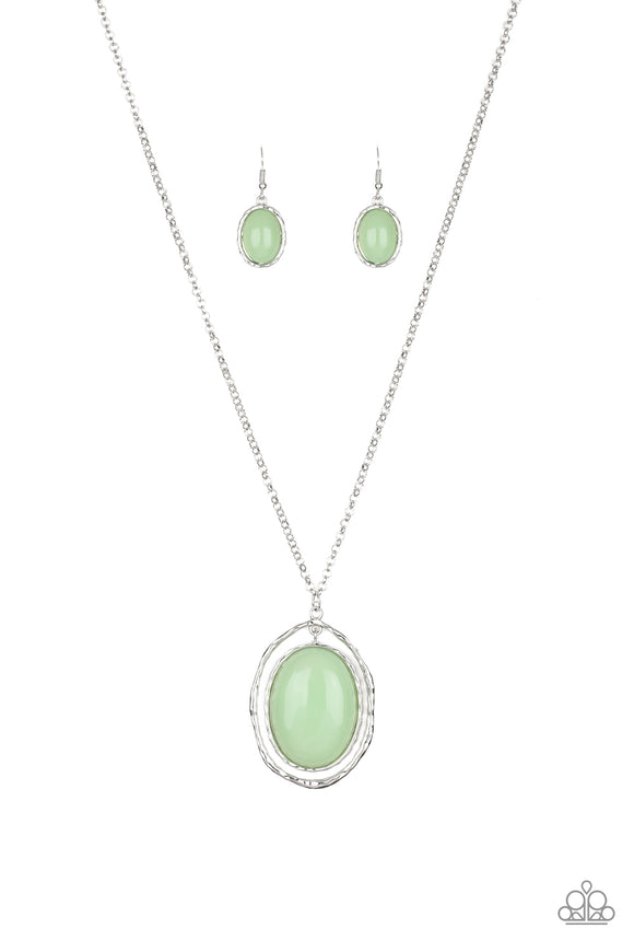 Harbor Harmony Green Necklace - Paparazzi Accessories