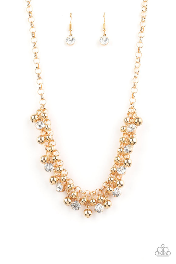 Wall Street Winner Gold Necklace - Paparazzi Accessories