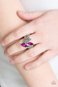 Stay Sassy Pink Ring - Paparazzi Accessories - jazzy-jewels-gems