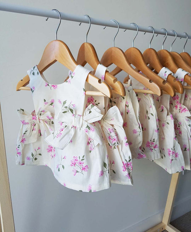 Baby Girls Amelia Floral Cotton Top and Bottom 2 Piece Set (Design in Australia)