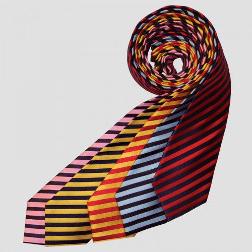 Junior Broad Stripe Show Tie