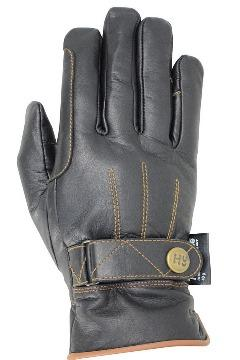 Leather thinsulate lined riding gloves