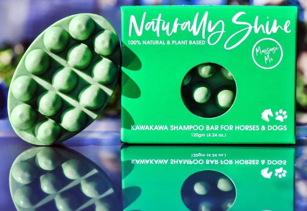 Naturally SHINE- Kawakawa Shampoo Bar for Horses & Dogs