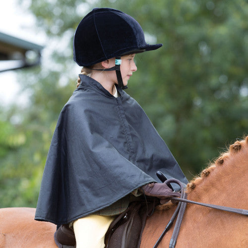 Equetech Junior waterproof riding cape