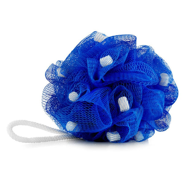 Blue Woof Pouf, for bathing and deodorising your dog