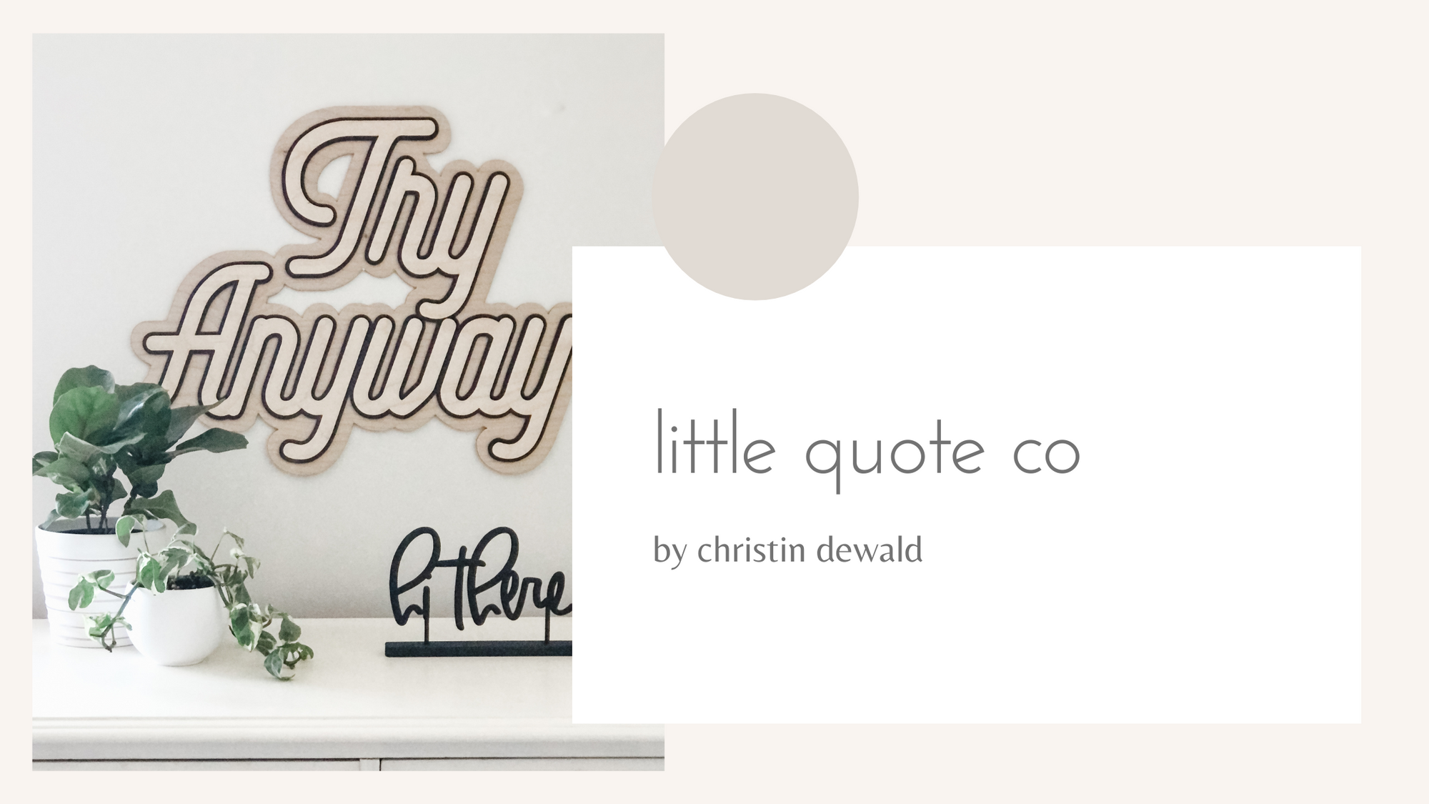 New! The Little Quote Co Collection