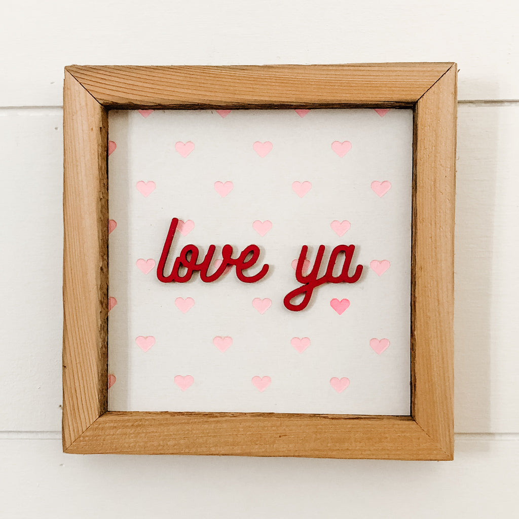 Wholesale - Valentines Hearts Small Sign