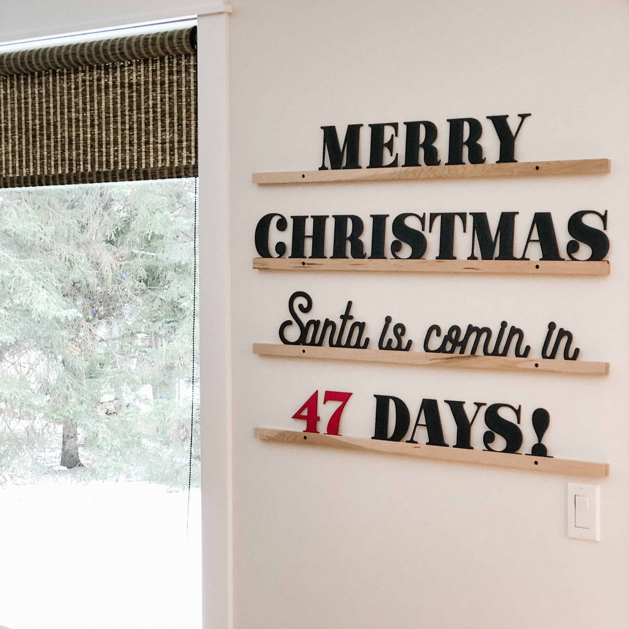 Wholesale - Little Type Co Holiday Script Words Accessory