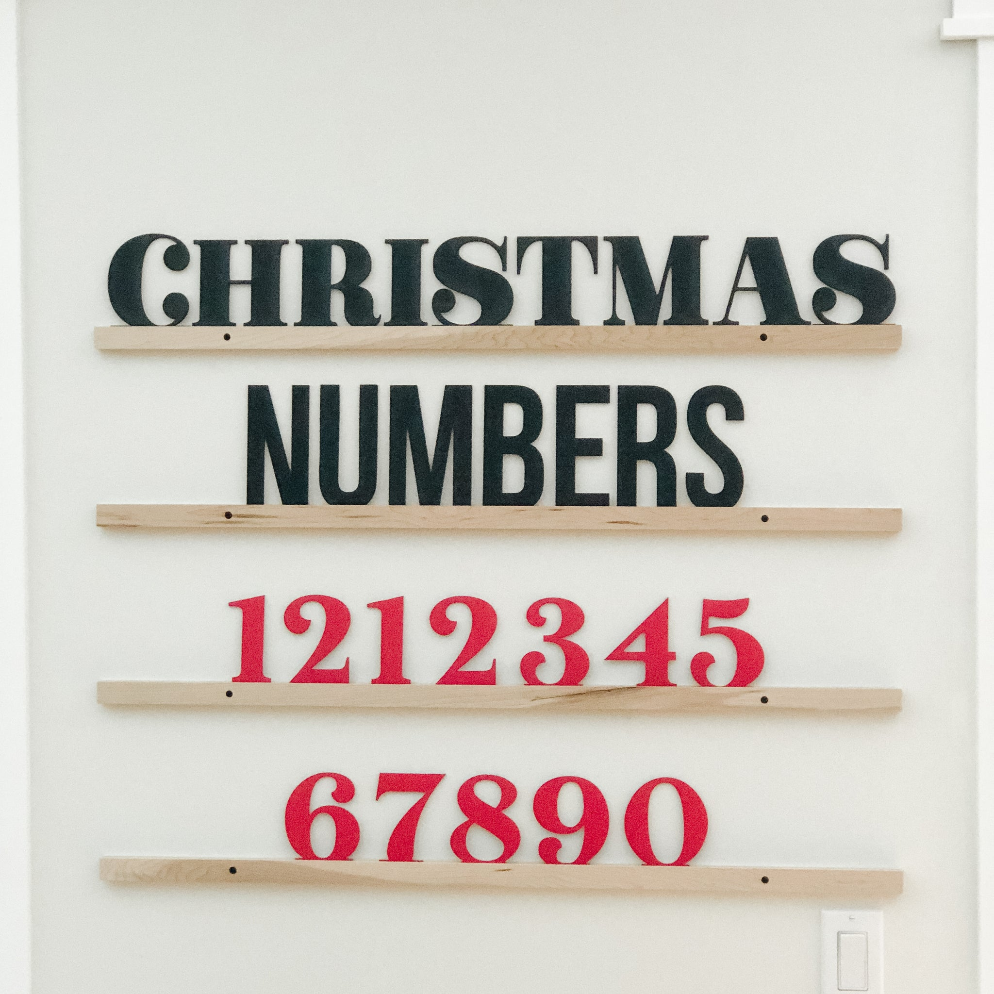Wholesale - Little Type Co Advent Numbers Accessory