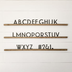 Wholesale - Little Type Co Small Font Gatsby Set