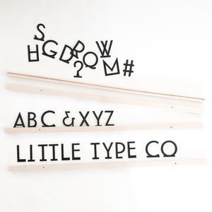 Little Type Co Small Font Gatsby Set