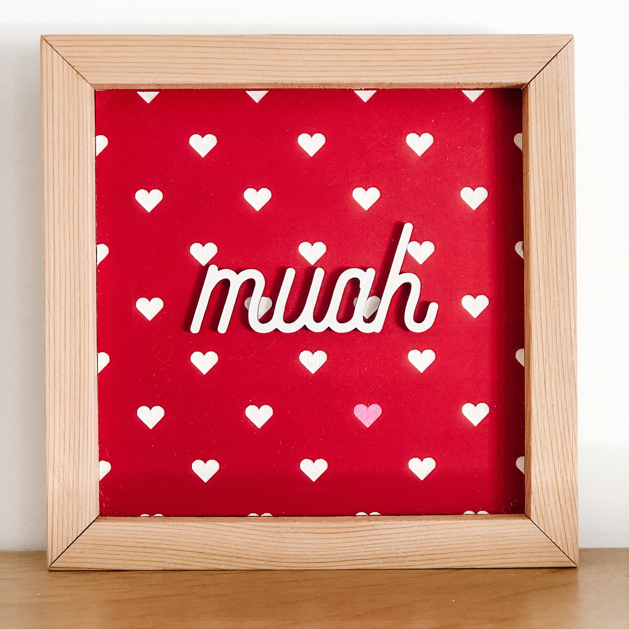 Muah Valentines Small Sign