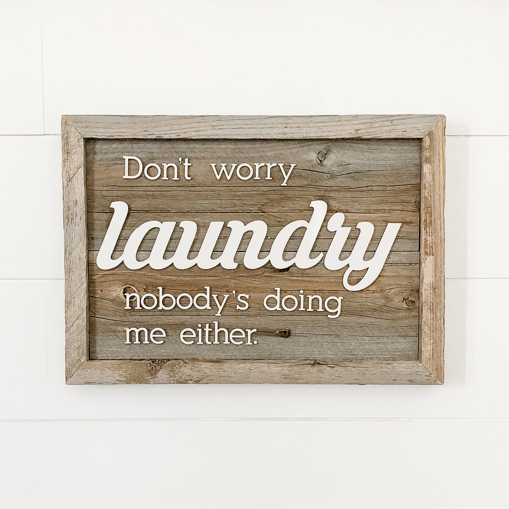 Wholesale - Don't Worry Laundry