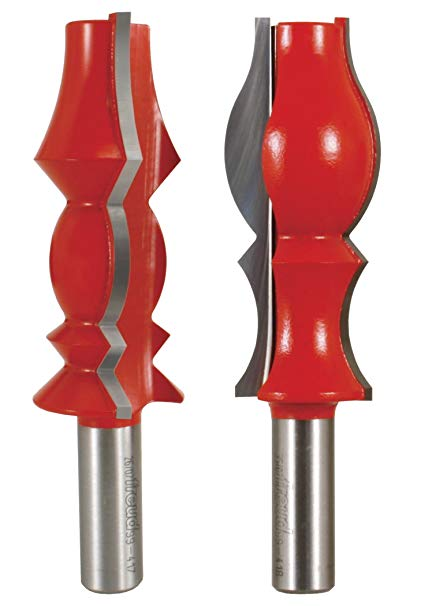 Freud Router Bit Set - CROWN MDLG SET 2 Piece
