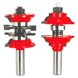 "Freud Router Bit Set - 1‑7/8 "" Entry & Interior Door Router Bit System"