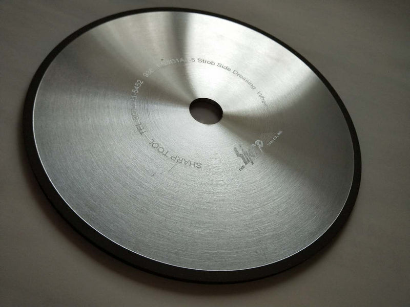 D1A1-19 Side Grinding 4 x 1/8 x 1-1/4 ,1/4 x 1/4 Grit 150 Con 125 Diamond Grinding Wheel