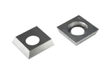 Carbide Insert Knife 14.3mm x 14.3mm x 2.0mm  ShinMax & Steel City Planer -BOX OF 10
