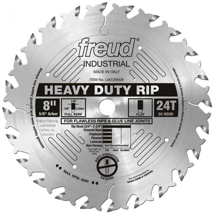 LM72M008 Freud Heavy-Duty Rip Blade