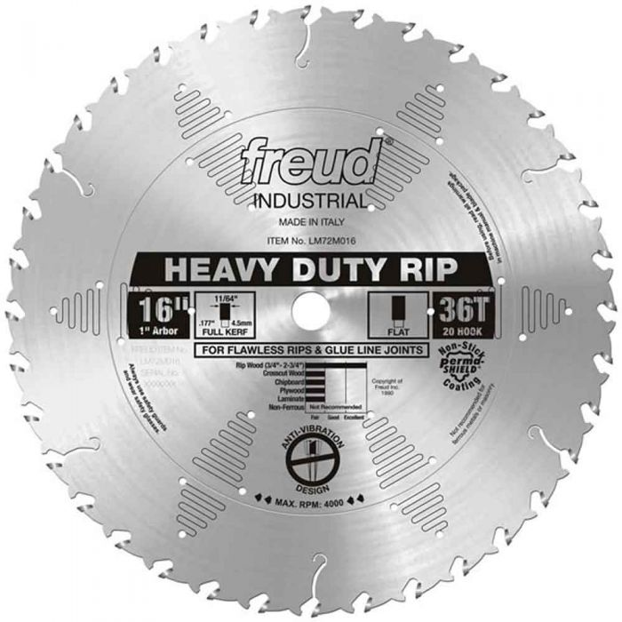 LM72M016 Freud Heavy-Duty Rip Blade
