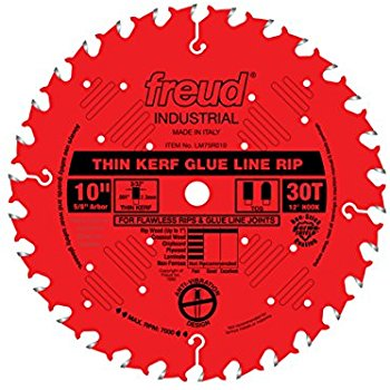 LM75R010 Freud Industrial Thin Kerf Glue Line Ripping Blade