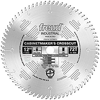 LU73M012 Freud Cabinet Maker's Saw Blade