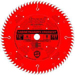 LU73R012 Freud Cabinet Maker's Crosscut Blade Saw Blade