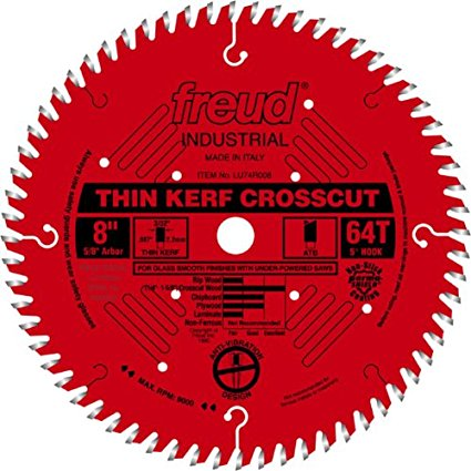 LU74R008 Freud Thin Kerf Ultimate Cut-Off Saw Blade