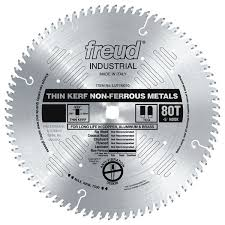 LU77M008 Freud Thin Kerf Non-Ferrous Metal Cutting Saw Blade