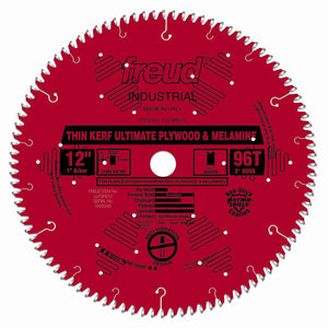 LU79R012 Freud Thin Kerf Ultimate Plywood & Melamine Saw Blade