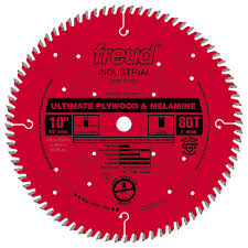 LU80R010 Freud Ultimate Plywood & Melamine Saw Blade