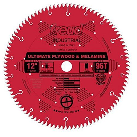 LU80R012 Freud Ultimate Plywood & Melamine Saw Blade