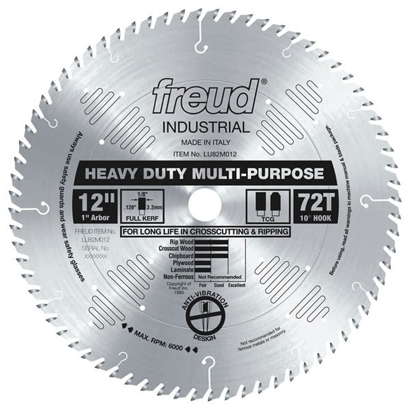 LU82M012 Freud Heavy Duty Multi-Purpose Saw Blade
