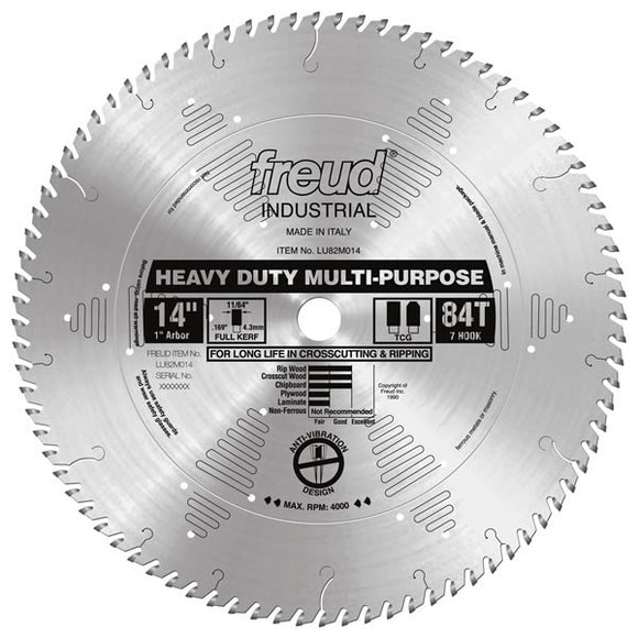 LU82M014 Freud Heavy Duty Multi-Purpose Saw Blade