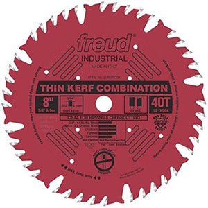 LU83R008 Freud Thin Kerf Combination Saw Blade