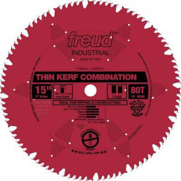 LU83R015 Freud Combination Saw Blade